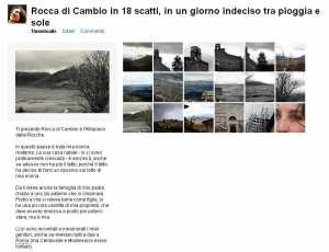 Rocca di Cambio on flickr