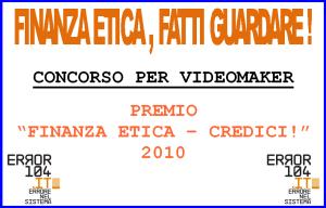 VIDEOCONCORSO FINANZA ETICA