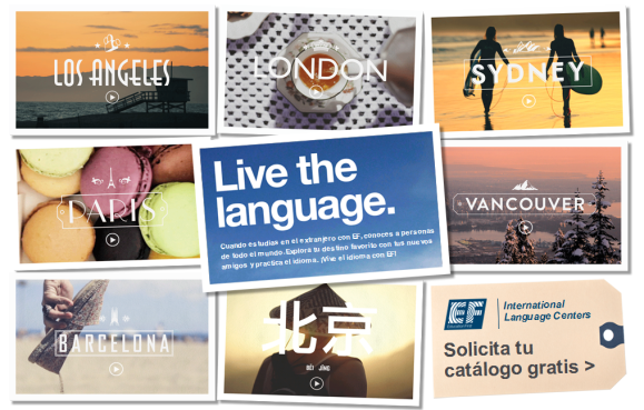Live the Language - EF Education First