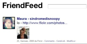 Me and Friendfeed. The beginning